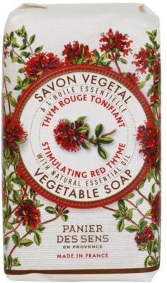 Panier des Sens Red Thyme felpezsdítő növényi szappan