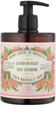 Panier des Sens Rose Geranium tekuté mydlo s pumpičkou