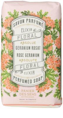 Panier des Sens Rose Geranium tuhé mýdlo