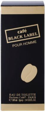 Parfums Café Café Black Label Eau de Toilette para homens 4