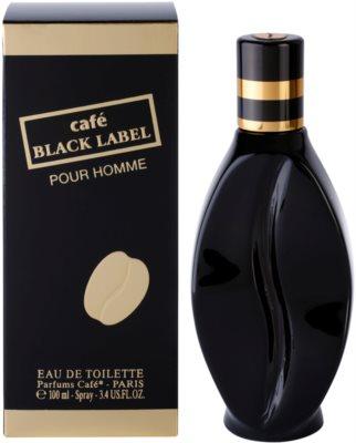 Parfums Café Café Black Label Eau de Toilette für Herren