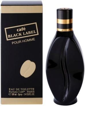 Parfums Café Café Black Label Eau de Toilette pentru barbati