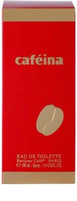Parfums Café Caféina Eau de Toilette para mulheres 4