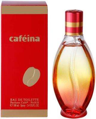 Parfums Café Caféina Eau de Toilette para mulheres