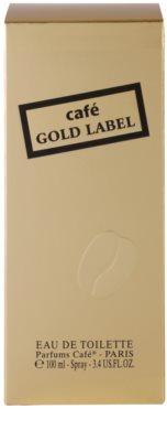 Parfums Café Café Gold Label eau de toilette para mujer 4