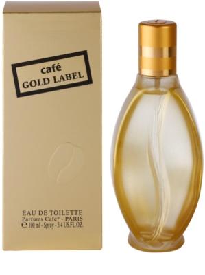 Parfums Café Café Gold Label Eau de Toilette für Damen