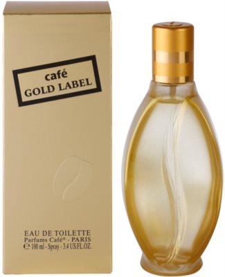 Parfums Café Café Gold Label eau de toilette para mujer