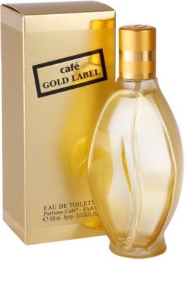 Parfums Café Café Gold Label eau de toilette para mujer 1