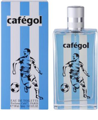 Parfums Café Cafégol Argentina Eau de Toilette pentru barbati