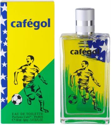 Parfums Café Cafégol Brazil eau de toilette férfiaknak