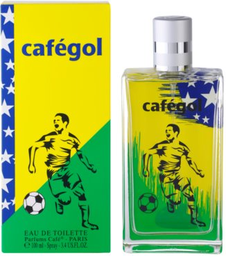 Parfums Café Cafégol Brazil Eau de Toilette pentru barbati