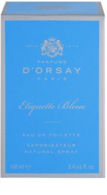 Parfums D'Orsay Etiquette Bleue eau de toilette unisex 4