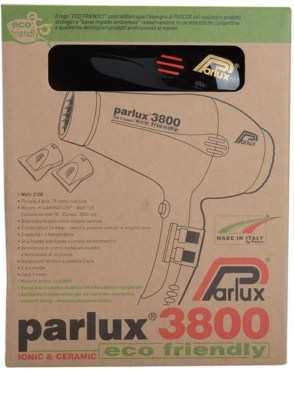Parlux 3800 Ionic & Ceramic fén na vlasy 2