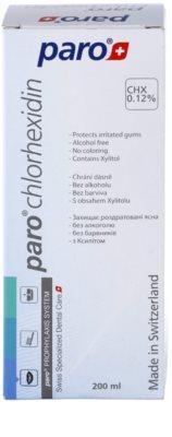 Paro Chlorhexidin enjuague bucal para unas encías sanas con efecto antiplaca 2