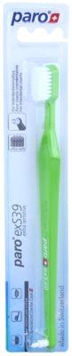 Paro exS39 cepillo de dientes + cepillo con un solo penacho 2 en 1 ultra suave