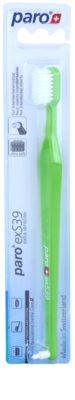 Paro exS39 Escova de dentes + escova individual 2 em 1 ultra soft