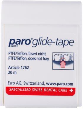 Paro Glide-Tape fita dental com superfície de teflon