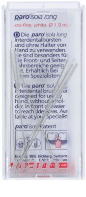Paro Isola Long cepillos interdentales 10 uds