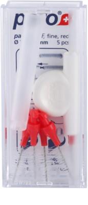 Paro Isola F náhradní mezizubní kónické kartáčky 5 ks + držák