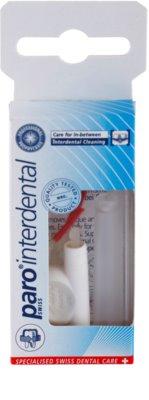 Paro Micro Brush-Sticks F nadomestni dentalni zobotrebci 5 kos + držalo 1