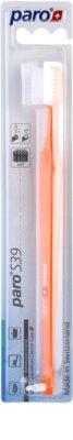 Paro S39 Escova de dentes + escova individual 2 em 1 soft
