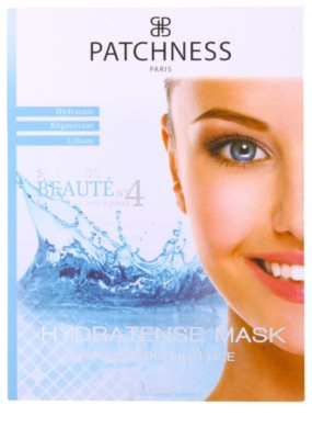 Patchness Beauty máscara hidratante intensiva