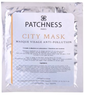 Patchness Beauty mascarilla antioxidante para el rostro 2