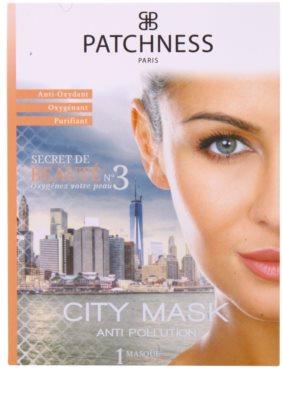 Patchness Beauty antioxidáns maszk az arcra