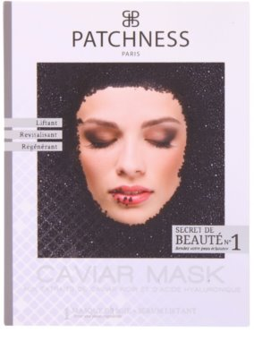 Patchness Luxury mascarilla revitalizante con caviar 2