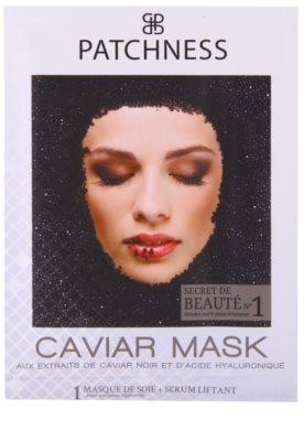 Patchness Luxury поживна маска з чорною ікрою
