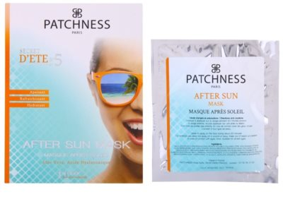 Patchness Sun зволожуюча маска після засмаги 1