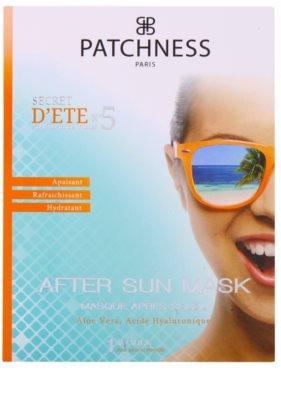 Patchness Sun máscara hidratante pós-solar