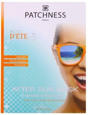 Patchness Sun vlažilna maska po sončenju