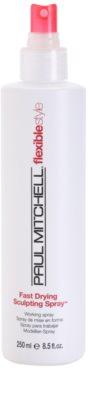 Paul Mitchell Flexiblestyle rychleschnoucí sprej pro finální úpravu 1