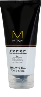 Paul Mitchell Mitch Steady Grip gel na vlasy extra silné zpevnění