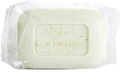 Paul Mitchell Tea Tree čisticí a holicí mýdlo na obličej