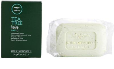 Paul Mitchell Tea Tree čistiace a holiace mydlo na tvár 1