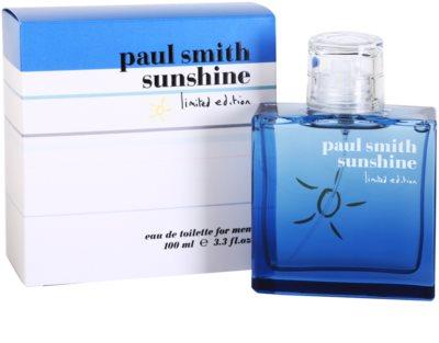 Paul Smith Sunshine Limited Edition 2014 eau de toilette para hombre 1