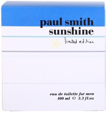 Paul Smith Sunshine Limited Edition 2014 eau de toilette para hombre 4