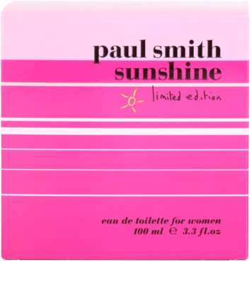 Paul Smith Sunshine Limited Edition 2014 Eau de Toilette für Damen 4