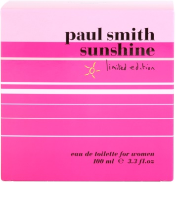 Paul Smith Sunshine Limited Edition 2014 eau de toilette nőknek 4