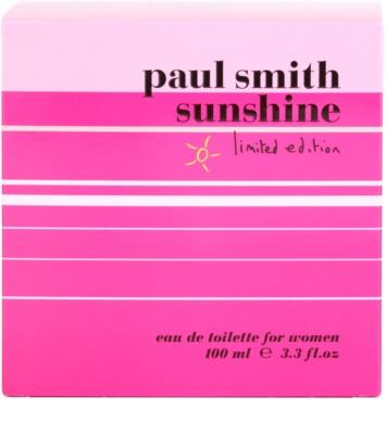 Paul Smith Sunshine Limited Edition 2014 eau de toilette para mujer 4
