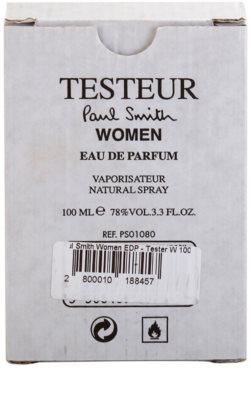 Paul Smith Woman eau de parfum teszter nőknek 2