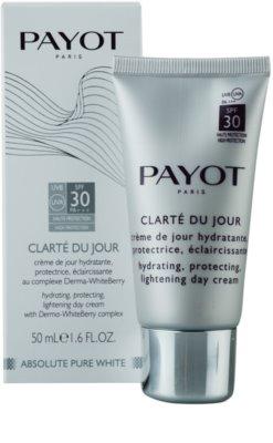 Payot Absolute Pure White hidratant si pentru protectie solara pentru toate tipurile de ten 1