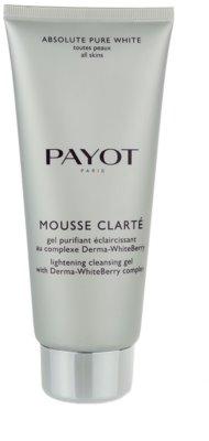 Payot Absolute Pure White gel de curatare pentru toate tipurile de ten