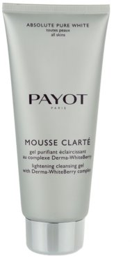 Payot Absolute Pure White gel limpiador para todo tipo de pieles