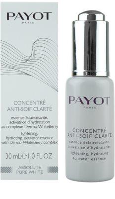 Payot Absolute Pure White auffrischendes hydratisierendes Serum 1