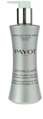 Payot Absolute Pure White тонізуюча вода для обличчя проти пігментних плям