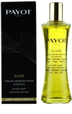 Payot Corps Visage Cheveux celotelový olej na vlasy a telo 1