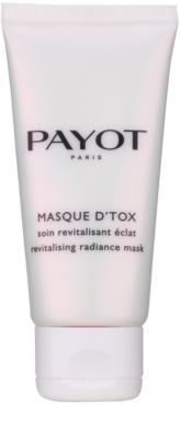 Payot Les Démaquillantes відновлююча та освітлююча маска для шкіри обличчя